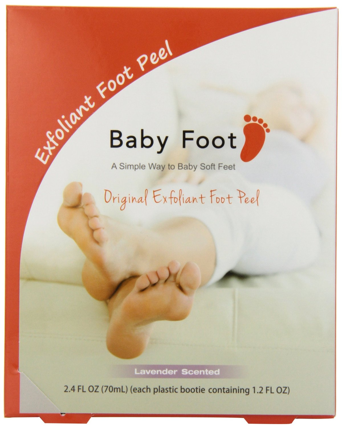 BabyFoot™ 1-Hour Treatment Original Exfoliant Foot Peel in Lavender
